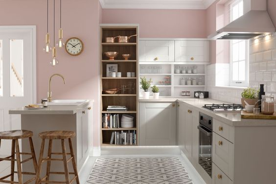 Blush Pink Kitchen 15+ Beautiful Ideas for a Lovely Home