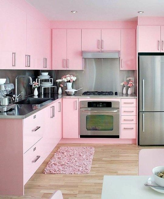 blush pink kitchen 10