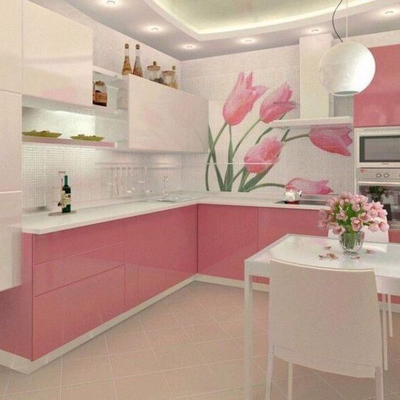 blush pink kitchen 11