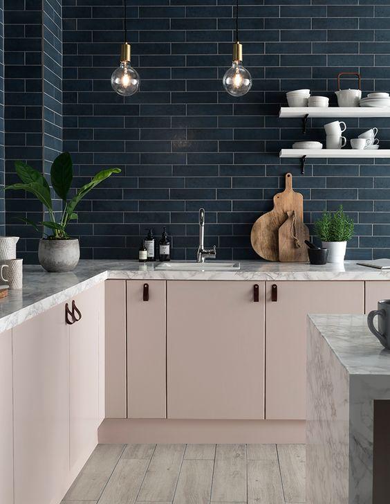 blush pink kitchen 7