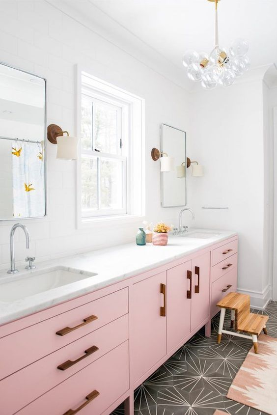 blush pink kitchen 8