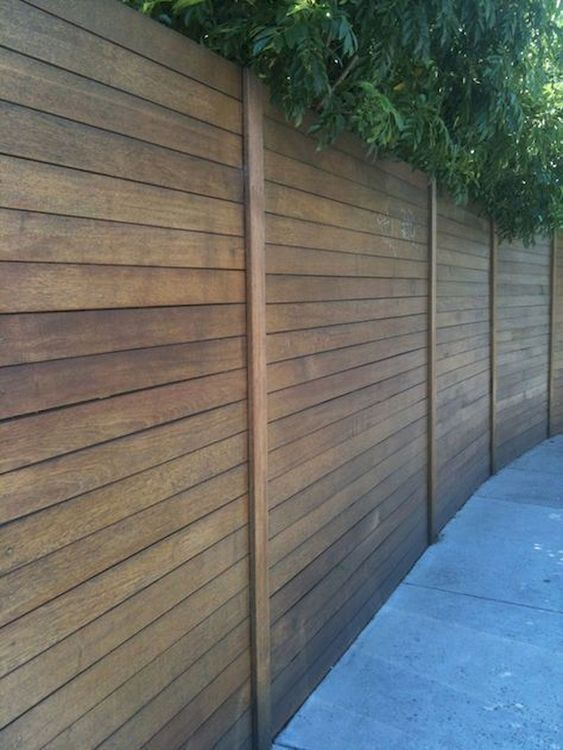 cedar fencing ideas 18
