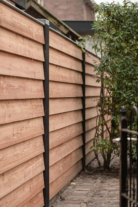 cedar fencing ideas 23