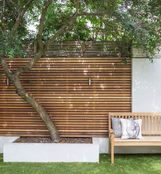 cedar fencing ideas 3