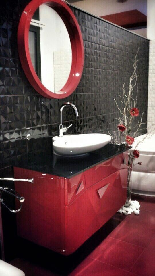 colored bathroom vanity 14