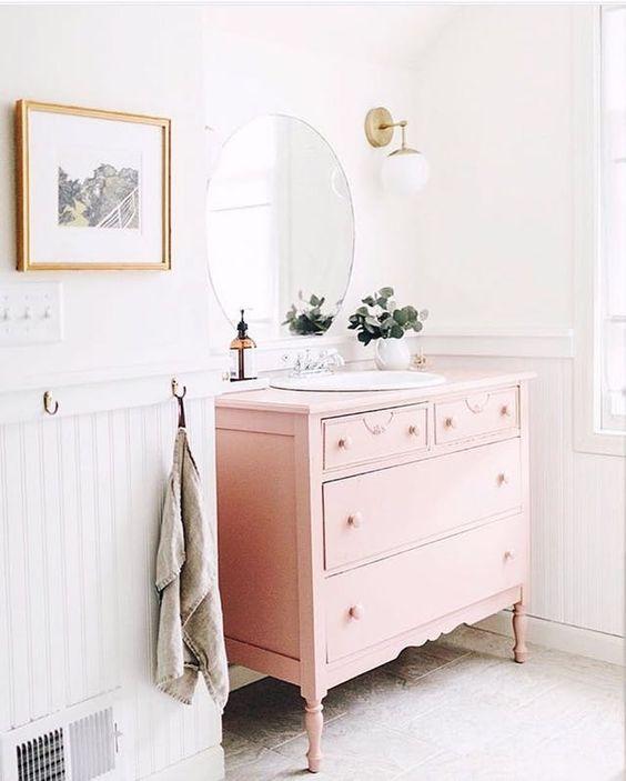 colored bathroom vanity 2