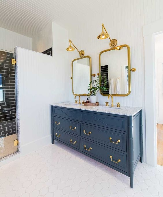colored bathroom vanity 21