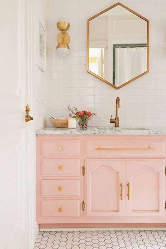 colored bathroom vanity 23