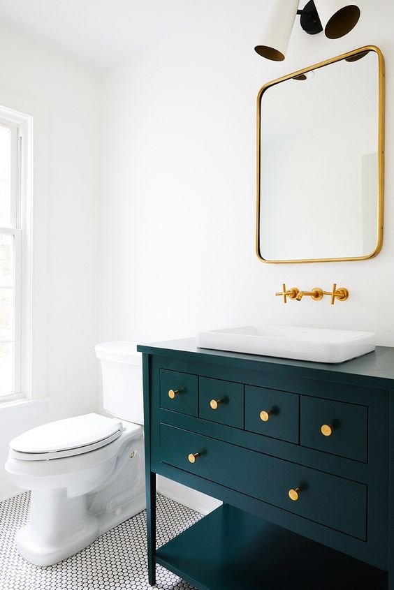 colored bathroom vanity 4