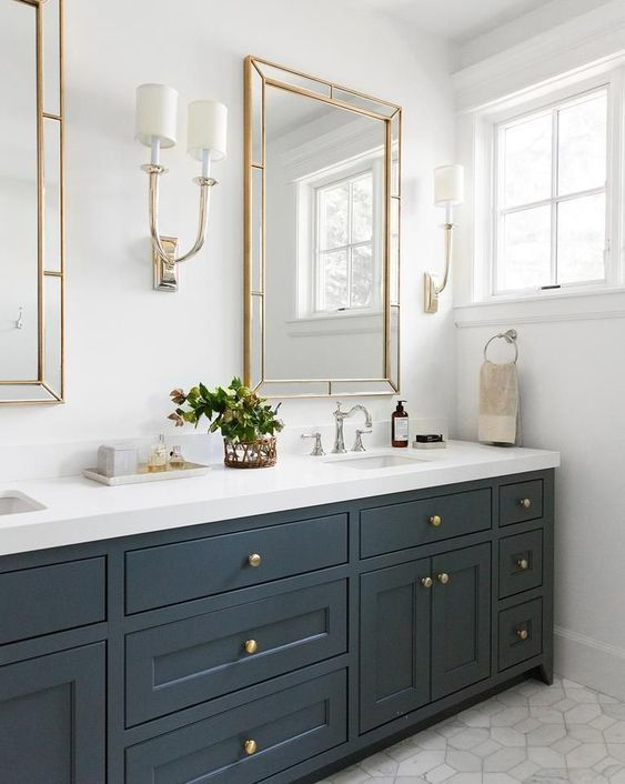 colored bathroom vanity 8