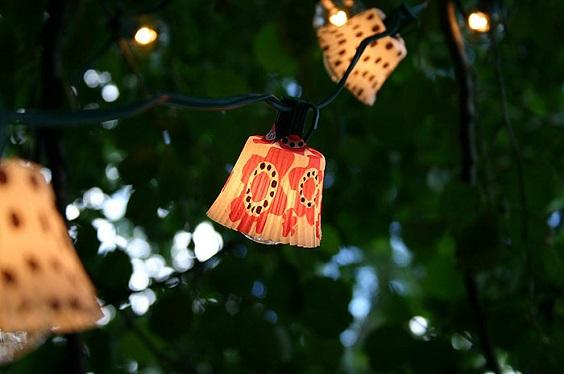 diy backyard lighting 21