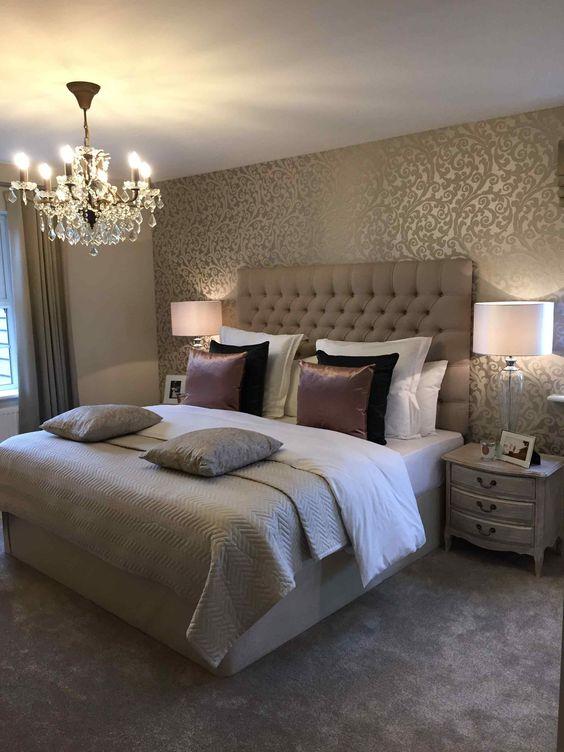 gold bedroom ideas 16