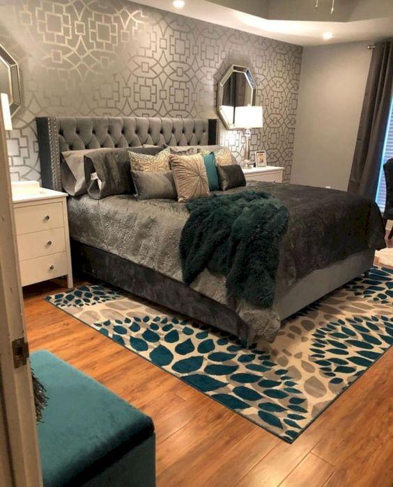 gold bedroom ideas 17