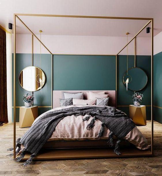 gold bedroom ideas 25