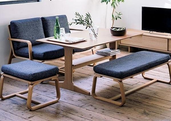minimalist dining room feature