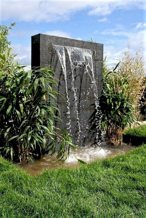 modern fountain ideas 22