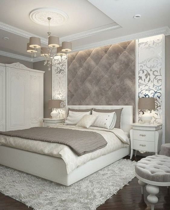 modern french bedroom 17