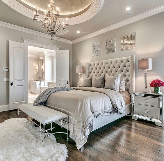 modern french bedroom 18