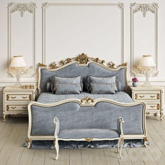 modern french bedroom 25