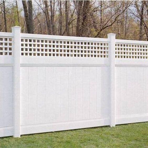 modern vinyl fence 17