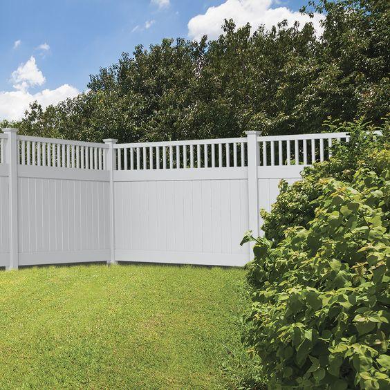 modern vinyl fence 20