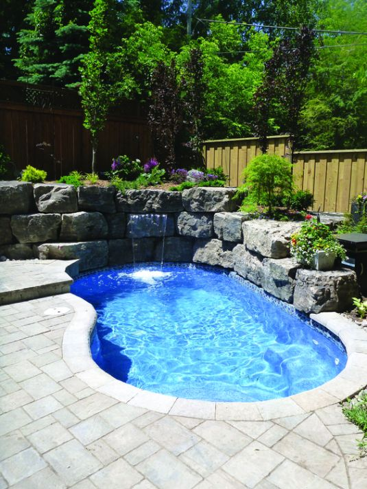 Small Inground Pool: 25+ Admirable Ideas for a Narrow ... on very small above ground pools, narrow swimming pools, narrow backyard pools, above ground saltwater swimming pools, narrow above ground pools, in ground lap pools, back yard swimming pools,