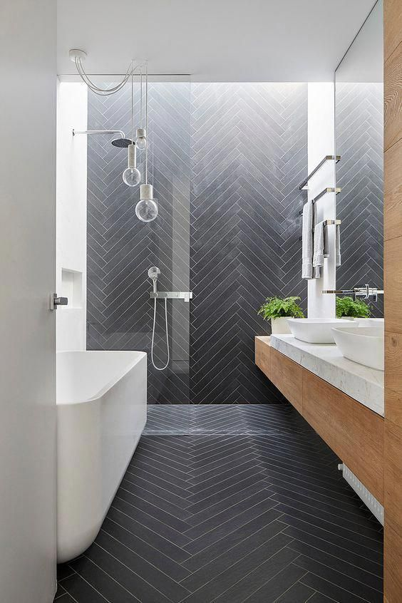 Scandinavian Bathroom Ideas 22