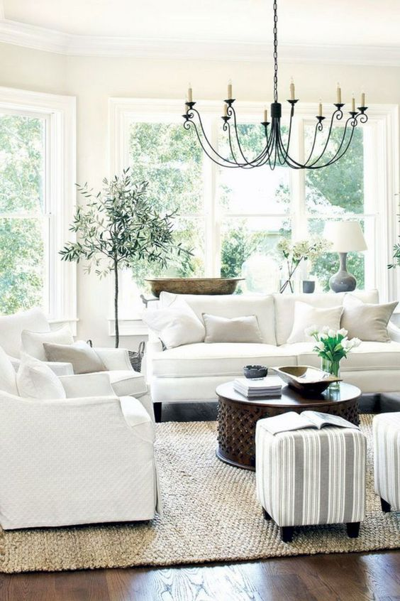 farmhouse living room 15