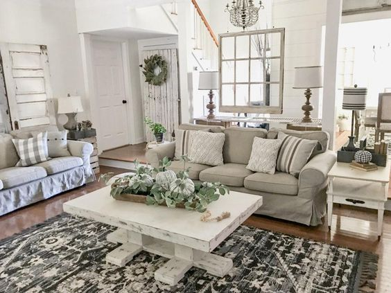 farmhouse living room 22