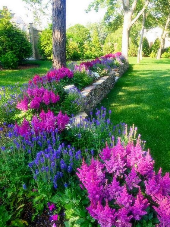 flower backyard ideas 6