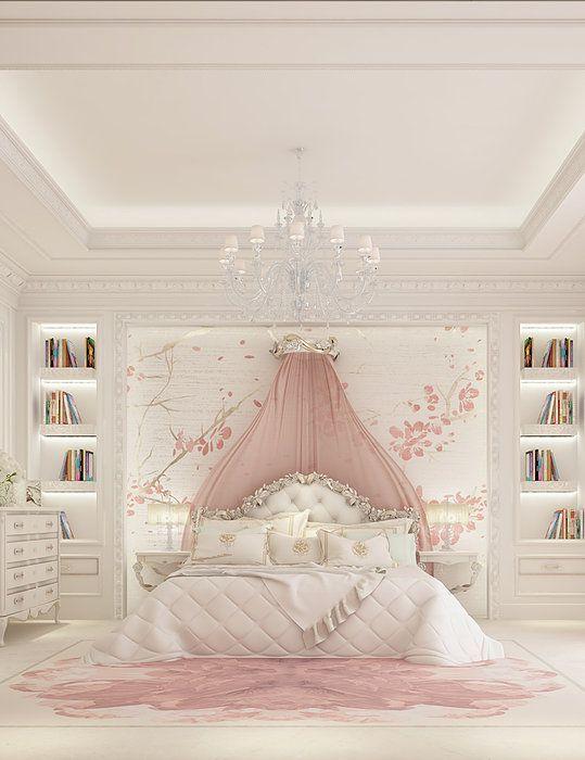 modern girls bedroom 13