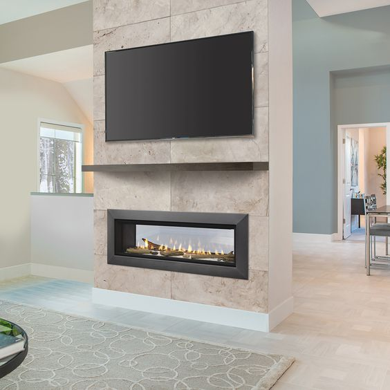 modern living room fireplace 6