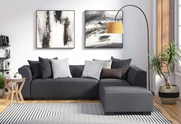 neutral living room feature