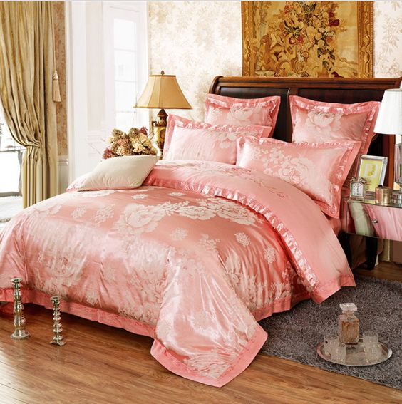 rose gold bedroom 14
