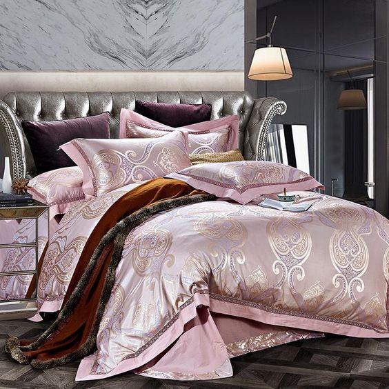 rose gold bedroom 15