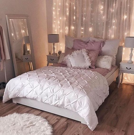 rose gold bedroom 2
