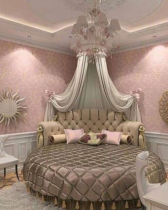 rose gold bedroom 21