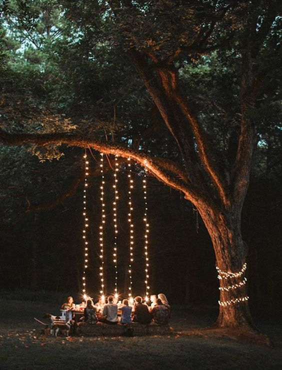 backyard lighting ideas 10