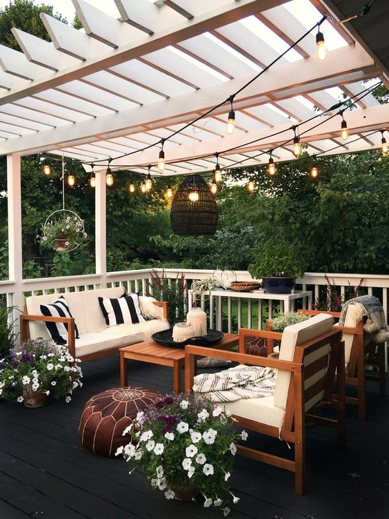 backyard lighting ideas 22