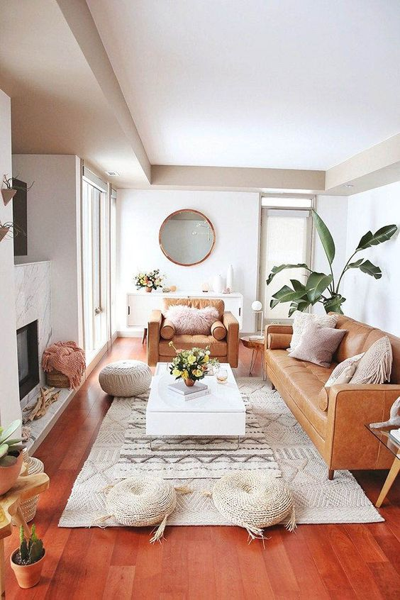 eclectic living room 25