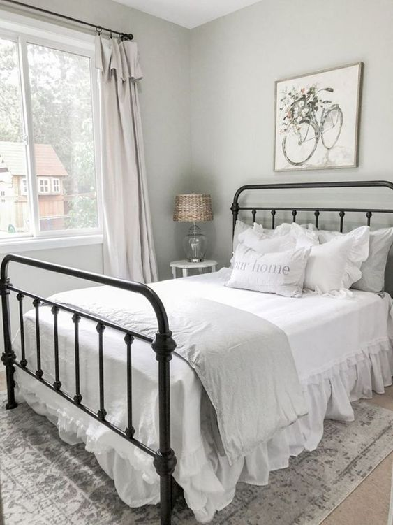 farmhouse bedroom decor 22