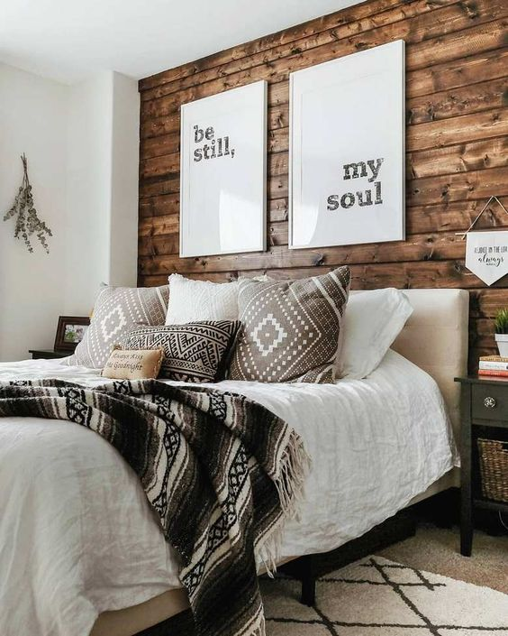 farmhouse bedroom decor 25