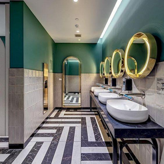 green bathroom ideas 10