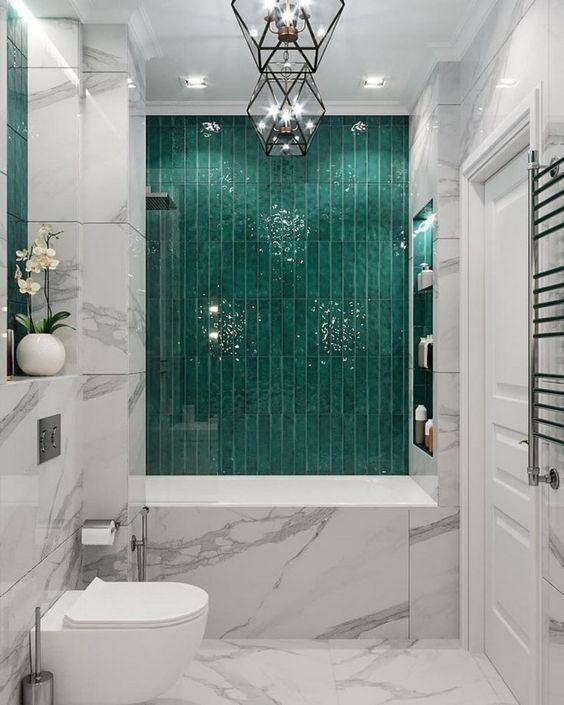 Green Bathroom Ideas: Brightly Dazzling Decor