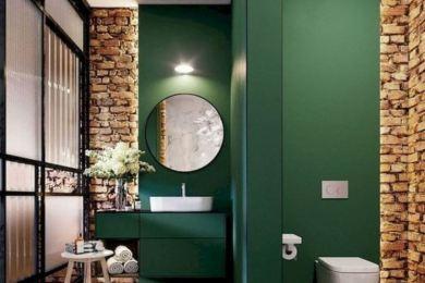 green bathroom ideas feature