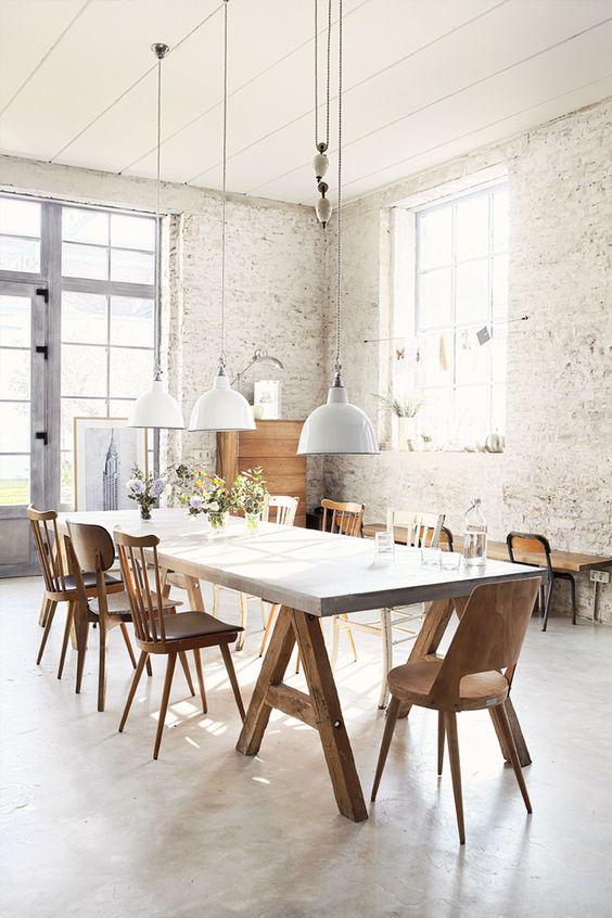 rustic dining room 21