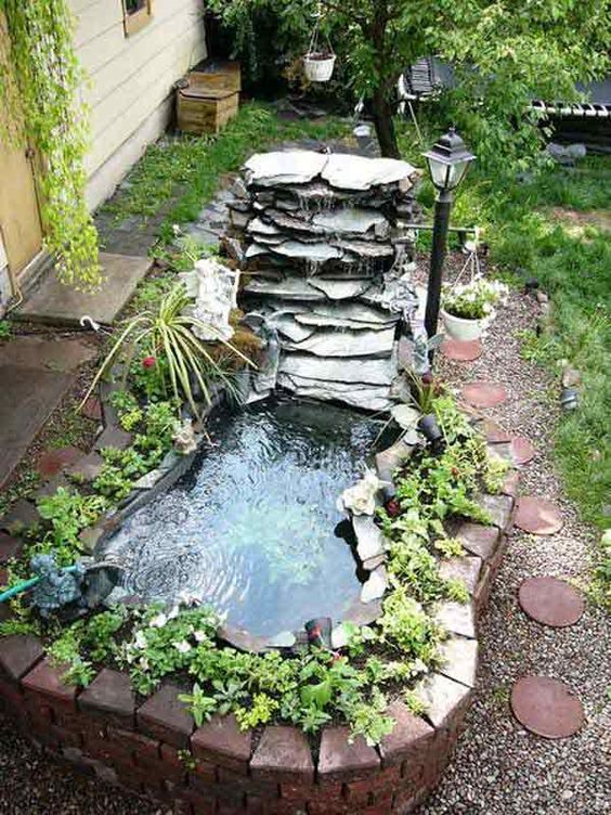 small backyard pond 13