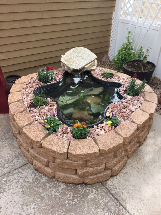 small backyard pond 15