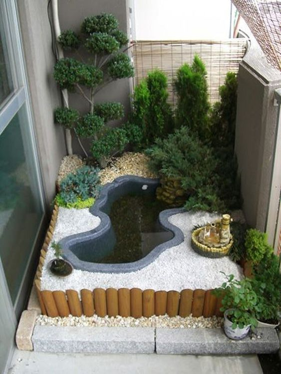 small backyard pond 16