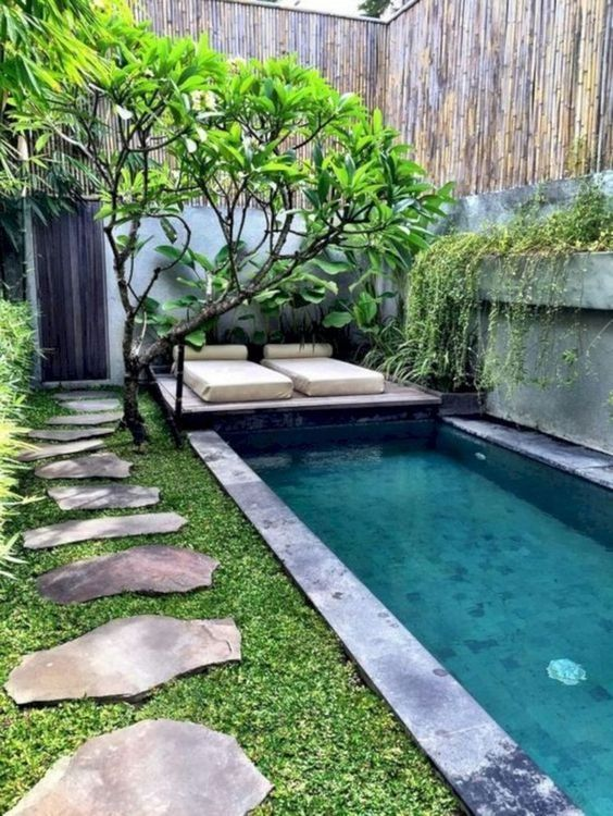 Amazing Swimming Pool: Long Narrow Pool